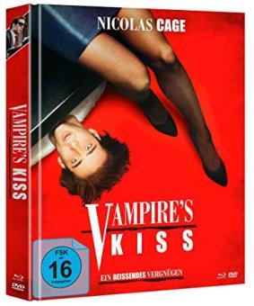 Vampire's Kiss (Limited Mediabook, Blu-ray+DVD)  (1989) [Blu-ray]
