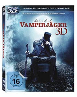 Abraham Lincoln - Vampirjäger (3D Blu-ray + Blu-ray + DVD) (2012) [3D Blu-ray]