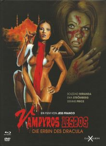 Vampyros Lesbos (Limited Mediabook, Blu-ray+DVD) (1971) [FSK 18] [Blu-ray]