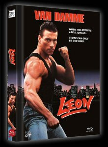 Leon (Uncut Limited Mediabook, Cover C) (1990) [FSK 18] [Blu-ray]