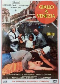 Giallo A Venezia (Limited Mediabook, Blu-ray+DVD, Cover B) (1979) [FSK 18] [Blu-ray]