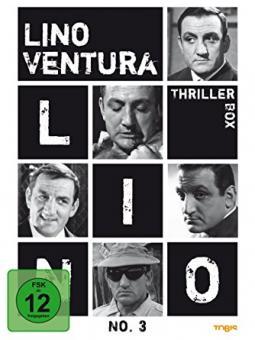 Lino Ventura No. 3 - Thriller Box (3 DVDs)