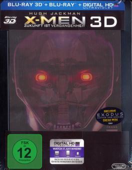 X-Men Zukunft ist Vergangenheit - Limited Steelbook (3D Blu-ray+Blu-ray) (2014) [3D Blu-ray]