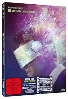 Vernetzt - Johnny Mnemonic (Limited Mediabook, 2 Blu-ray's) (1995) [FSK 18] [Blu-ray] [Gebraucht - Zustand (Sehr Gut)]