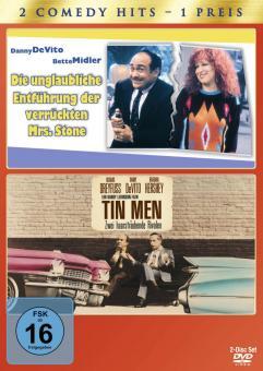 Tin Men - Zwei haarsträubende Rivalen / Die unglaubl. Entführung der verrückten Mrs. Stone (2 DVDs)