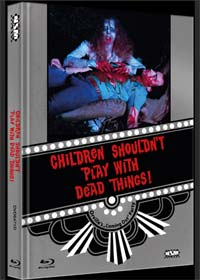 Children Shouldn't Play with Dead Things (Limited Mediabook, Blu-ray+DVD, Cover D) (1972) [FSK 18] [Blu-ray]
