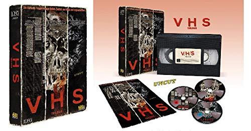 VHS Retro Edition - V/H/S Trilogie (3 Discs) [FSK 18] [Blu-ray]
