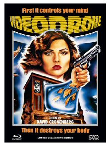 Videodrome (Limited Mediabook, Blu-ray+DVD, Cover C) (1983) [FSK 18] [Blu-ray]