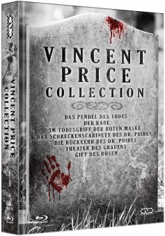 Vincent Price Collection (Limited Mediabook, 7 Discs) [Blu-ray]