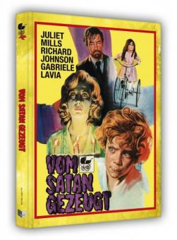 Vom Satan gezeugt (Limited Mediabook, Blu-ray+DVD, Cover A) (1974) [FSK 18] [Blu-ray]