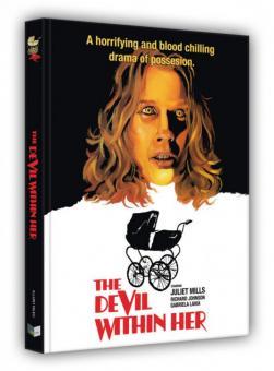 Vom Satan gezeugt (Limited Mediabook, Blu-ray+DVD, Cover C) (1974) [FSK 18] [Blu-ray]
