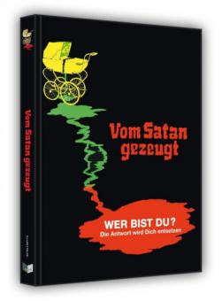 Vom Satan gezeugt (Limited Mediabook, Blu-ray+DVD, Cover E) (1974) [FSK 18] [Blu-ray]