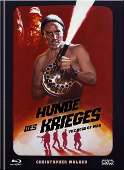 Die Hunde des Krieges (Limited Mediabook, Blu-ray+DVD, Cover F) (1980) [Blu-ray]