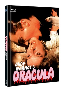 Andy Warhol's Dracula (Limited Mediabook, Blu-ray+DVD, Cover B) (1974) [FSK 18] [Blu-ray]