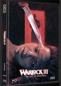 Warlock 3 - The End of Innocence (Limited Mediabook, Blu-ray+DVD, Cover B) (1999) [FSK 18] [Blu-ray]