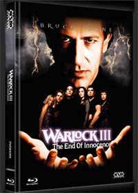 Warlock 3 - The End of Innocence (Limited Mediabook, Blu-ray+DVD, Cover A) (1999) [FSK 18] [Blu-ray]