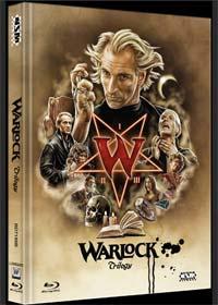 Warlock Trilogie (Limited Mediabook, 3 Discs, Cover B) [Blu-ray]