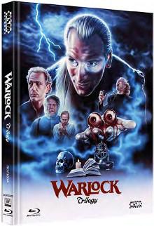 Warlock Trilogie (Limited Mediabook, 3 Discs, Cover A) [Blu-ray]