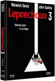 Leprechaun 3 - Tödliches Spiel in Las Vegas (Limited Mediabook, Blu-ray+DVD, Cover A) (1995) [FSK 18] [Blu-ray]