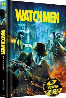 Watchmen - Die Wächter (Limited 4 Disc Mediabook, inkl. Ultimate Cut, Blu-ray+DVD, Cover A) (2009) [Blu-ray]