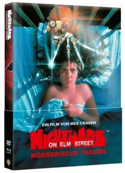 Nightmare on Elm Street - Teil 1 (Limited Wattiertes Mediabook, Blu-ray+DVD) (1984) [Blu-ray]