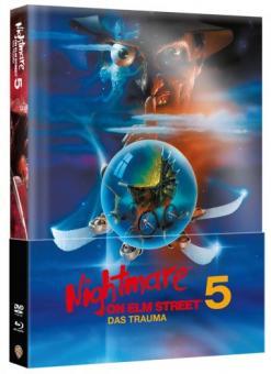 Nightmare on Elm Street - Teil 5 (Limited Wattiertes Mediabook, Blu-ray+DVD) (1989) [FSK 18] [Blu-ray]