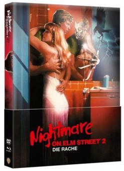 Nightmare on Elm Street - Teil 2 (Limited Wattiertes Mediabook, Blu-ray+DVD) (1984) [FSK 18] [Blu-ray]