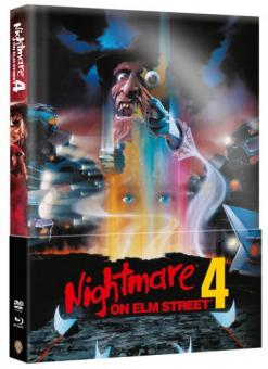 Nightmare on Elm Street - Teil 4 (Limited Wattiertes Mediabook, Blu-ray+DVD) (1988) [FSK 18] [Blu-ray]