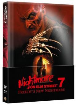 Nightmare on Elm Street - Teil 7 (Limited Wattiertes Mediabook, Blu-ray+DVD) (1994) [FSK 18] [Blu-ray]