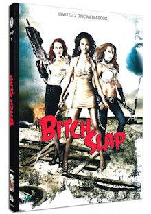 Bitch Slap (Limited Mediabook, Blu-ray+DVD, Cover B) (2009) [FSK 18] [Blu-ray]