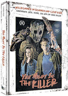 You Might Be the Killer (Limited Mediabook, Blu-ray+DVD, Cover D) (2018) [FSK 18] [Blu-ray]