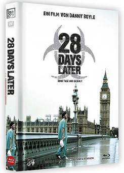 28 Days Later (Limited Mediabook, Blu-ray+DVD, Cover B) (2002) [FSK 18] [Blu-ray]