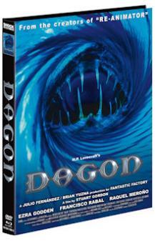 Dagon (Limited Mediabook, Blu-ray+DVD, Cover C) (2001) [FSK 18] [Blu-ray]