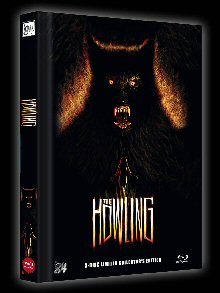 The Howling - Das Tier (3 Disc Limited Mediabook, Blu-ray+DVD, Cover C) (1981) [Blu-ray]