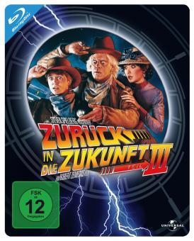 Zurück in die Zukunft III (Steelbook) (1990) [Blu-ray]