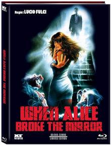 When Alice Broke the Mirror (Limited Mediabook, Blu-ray+DVD, Cover A) (1988) [FSK 18] [Blu-ray]