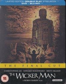 The Wicker Man (Steelbook, Blu-ray + DVD) (1973) [UK Import] [Blu-ray]