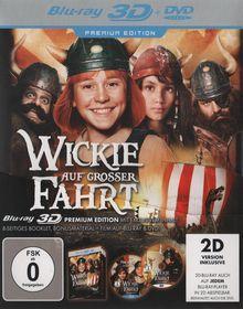 Wickie auf großer Fahrt (3D Premium Edition, +DVD) (2011) [3D Blu-ray]
