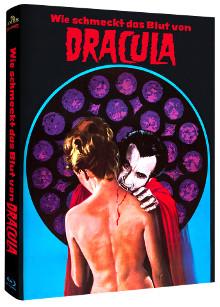 Wie schmeckt das Blut von Dracula (Limited Mediabook, Cover B) (1970) [Blu-ray]