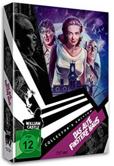 Das alte finstere Haus (William Castle Collection #2) (Limited Digipak, Blu-ray+DVD) (1963) [Blu-ray]