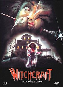Witchcraft - Das Böse lebt (Limited Mediabook, Blu-ray+DVD, Cover A) (1988) [FSK 18] [Blu-ray]