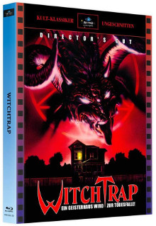 Witchtrap (2 Disc Limited Mediabook, Cover A) (1989) [FSK 18] [Blu-ray]