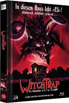 Witchtrap (2 Disc Limited Mediabook, Blu-ray+DVD, Cover A) (1989) [FSK 18] [Blu-ray]