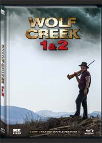 Wolf Creek 1&2 (2 Disc, Limited Mediabook) [FSK 18] [Blu-ray]