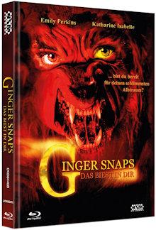 Ginger Snaps - Das Biest in Dir (Limited Mediabook, Blu-ray+DVD, Cover B) (2000) [FSK 18] [Blu-ray]
