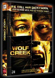 Wolf Creek (3 Disc Limited Mediabook, 2 DVDs+Blu-ray) (2005) [FSK 18] [Blu-ray]