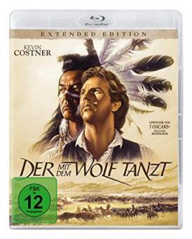 Der mit dem Wolf tanzt (Extended Edition) (1990) [Blu-ray]
