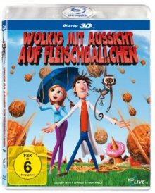 Wolkig mit Aussicht auf Fleischbällchen (3D Version) (2009) [Blu-ray]