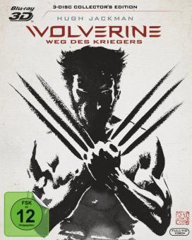 Wolverine: Weg des Kriegers (inkl. Extended Cut) (2013) [3D Blu-ray]