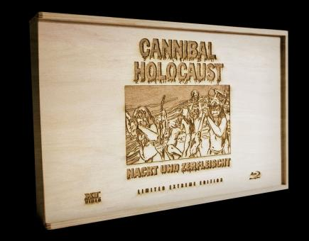 Cannibal Holocaust (Nackt und Zerfleischt) (Limited Extreme Edition, Blu-ray+2 DVDs+CD in Holzbox) (1980) [FSK 18] [Blu-ray]